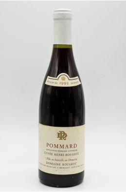 Rougeot Pommard Cuvée Henri Rougeot 1995