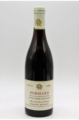 Rougeot Pommard Cuvée Henri Rougeot 2005
