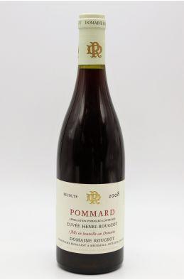 Rougeot Pommard Cuvée Henri Rougeot 2008