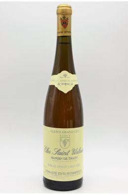Zind Humbrecht Alsace Grand Cru Pinot Gris Rangen de Thann Clos Saint Urbain 1992