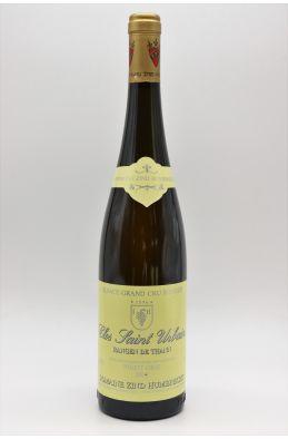 Zind Humbrecht Alsace Grand Cru Pinot Gris Rangen de Thann Clos Saint Urbain 2001