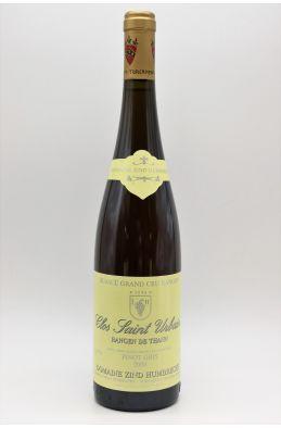 Zind Humbrecht Alsace Grand Cru Pinot Gris Rangen de Thann Clos Saint Urbain 2004