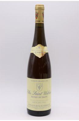 Zind Humbrecht Alsace Grand Cru Riesling Rangen de Thann Clos Saint Urbain 1993