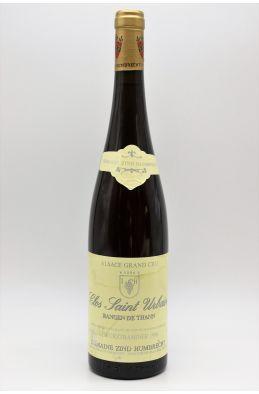 Zind Humbrecht Alsace Grand Cru Gewurztraminer Rangen de Thann Clos Saint Urbain 1996