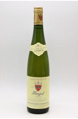 Zind Humbrecht Alsace Grand Cru Gewurztraminer Hengst 1993