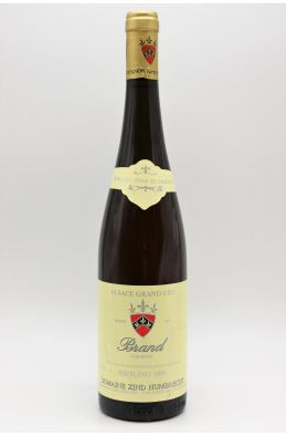 Zind Humbrecht Alsace Grand cru Riesling Brand 1996