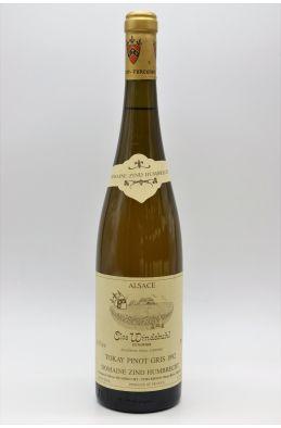 Zind Humbrecht Alsace Pinot Gris Clos Windsbuhl 1992