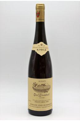 Zind Humbrecht Alsace Pinot Gris Clos Windsbuhl 1996