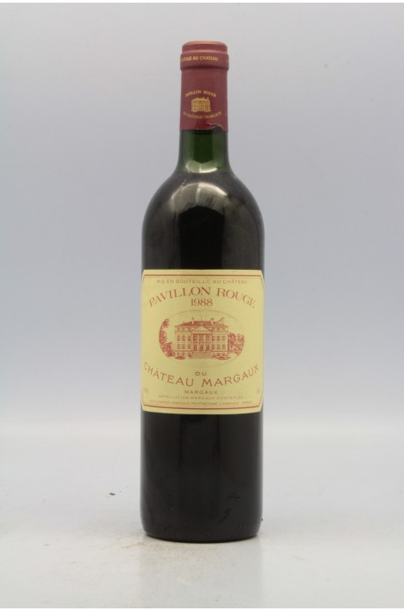 Vin rouge millesime 1988