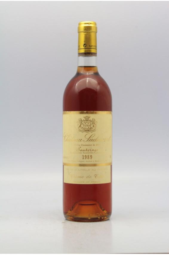 Suduiraut Crème de Tête 1989