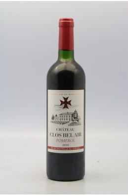 Clos Bel Air 2010