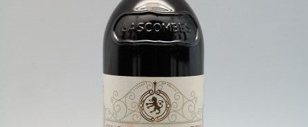 The picture shows a grand cru bottle of Chateau Lascombes wine from Bordeaux