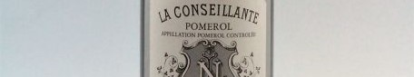 The picture shows a bottle of the great wine chateau La Conseillante in Pomerol from Bordeaux