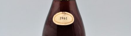 the picture shows a bottle of the 1961 vintage