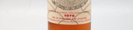 the picture shows a bottle of the 1970 vintage