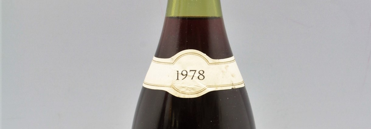 the picture shows a bottle of the 1978 vintage