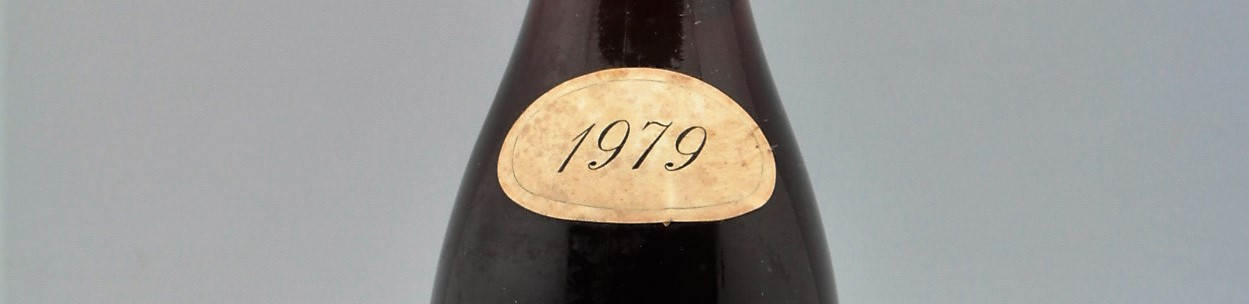 the picture shows a bottle of the 1979 vintage