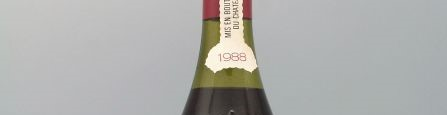 the picture shows a bottle of the 1988 vintage
