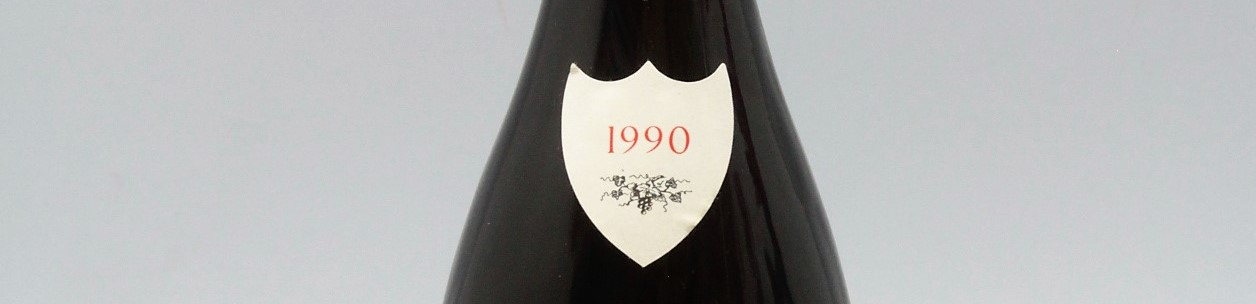 the picture shows a bottle of the 1990 vintage