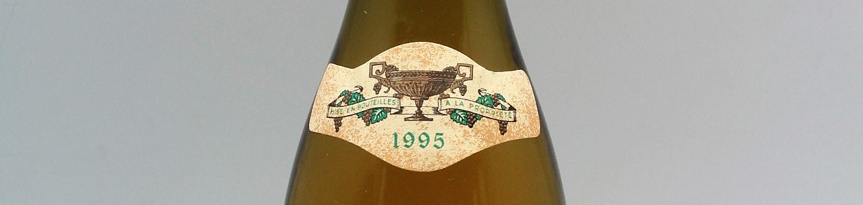 the picture shows a bottle of the 1995 vintage