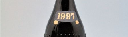 the picture shows a bottle of the 1997 vintage