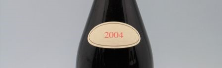 the picture shows a bottle of the 2004 vintage