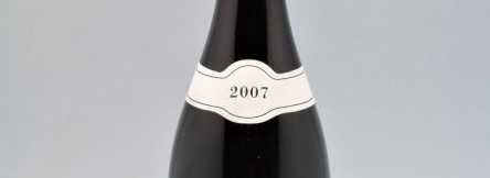 the picture shows a bottle of the 2007 vintage
