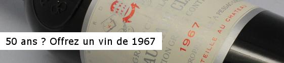 Offrir vin cadeau original anniversaire 50 ans