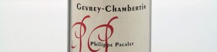 La photo montre une bouteille de vin du domaine Philippe Pacalet en Bourgogne