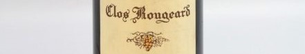The picture shows a bottle of Clos Rougeard from the Loire valley