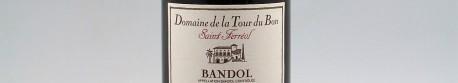 La photo montre une bouteille de vin du domaine La Tour du Bon en Provence