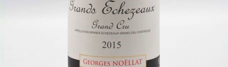 The picture shows a bottle of a grands echezeaux grand cru from georges noellat from Burgundy