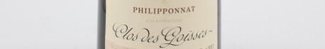 La photo montre une bouteille de Champagne du domaine philipponnat dans la Champagne