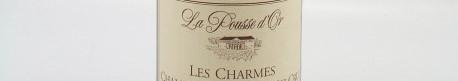 La photo montre une bouteille de vin du domaine La Pousse d'Or en Bourgogne