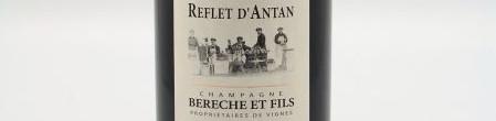 La photo montre une bouteille de Champagne du domaine Bérêche.