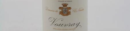 La photo montre une bouteille de l'appellation Vouvray du domaine Foreau Clos Naudin dans la Loire.