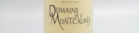 The picture shows a bottle from montcalmes estate from Armand Rousseau from Languedoc