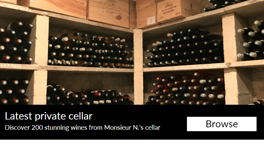 Latest Connoisseur's Cellar : 200 stunning wines from 1985 to 2018
