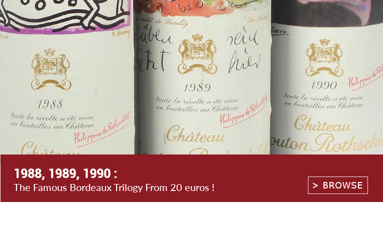 1988 1989 1990 Famous Bordeaux Wine