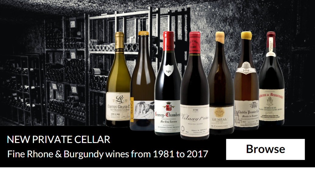 Burgundy & Rhone Connoisseur's Cellar : Enjoy 150 stunning wines from 1981 to 2017