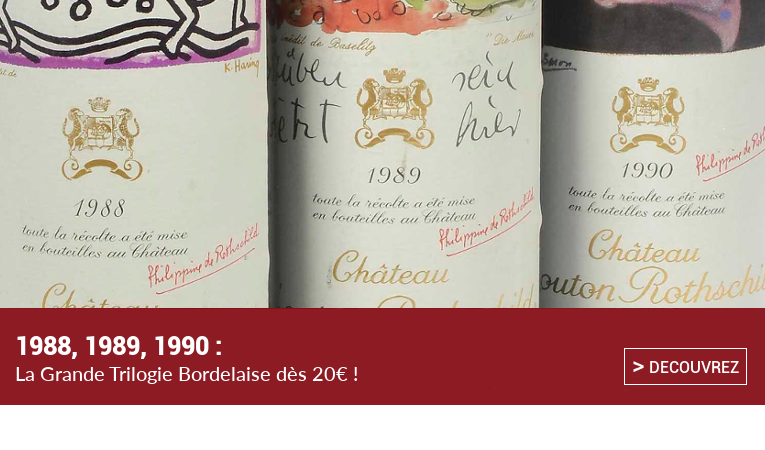 1988 1989 1990 Grands Vins de Bordeaux